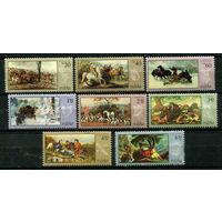 Польша - 1968 - Охота - картины - [Mi. 1890-1897] - полная серия - 8 марок. MNH.