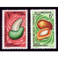 2 марки 1967 год Камерун Флора 508,511