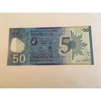 Уругвай 2017 год 50 песо пресс