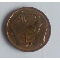 Каймановы острова 1 цент 1972