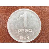 1 песо 1984 Аргентина