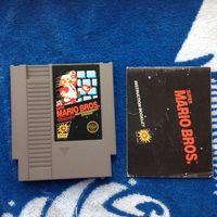 Картридж NES Mario Bros. NTSC + мануал