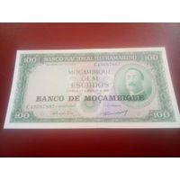 Мозамбик 100 эскудо 1961г.