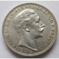 Пруссия Германская империя 3 марки 1911