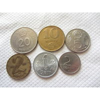 Венгрия монеты