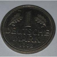 ФРГ 1 марка 1992