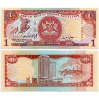 Тринидад и Тобаго. 1 доллар (образца 2002 года,  P41b, UNC)