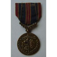 """Чехословакия.Медаль """"За храбрость перед врагом""""."""