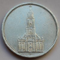 Германия, 5 марок 1934 F (серебро)