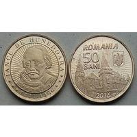 Румыния 50 бань, 2016 575 лет с начала правления Яноша Хуньяди
