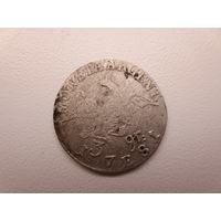 3 крейцера 1781