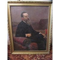 Картина(репродукция)И.Репин - портрет Римский-Корсаков.