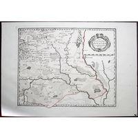 Карта Великого Княжества Литовского, 1789 - 1791 гг., Австрия. Лист #47 (юго-восток) из атласа Франца фон Райли (Австрия), Оригинал XVIII в.