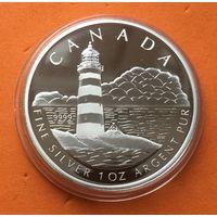 КАНАДА Proof 20 долларов 2005 г СЕРЕБРО (999) Маяк острова Торонто