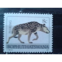 Борхутасвана, анклав ЮАР 1977 Фауна**