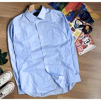 Рубашка M&S  по ворот 41 см, на  рост 185 /ОГ 106