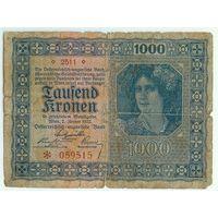 Венгрия, 1000 крон 1922 год.