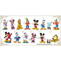 Полная серия фигурок Ландрин Дисней Микки Маус / Mickey Mouse Clubhouse (2007)