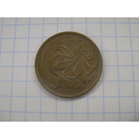 Австралия 2 цента 1977г.km63