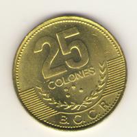 Коста-Рика: 25 колон 2005 г.