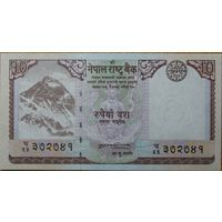 Непал. 10 рупия UNC