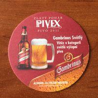 Подставка под пиво Gambrinus No 26