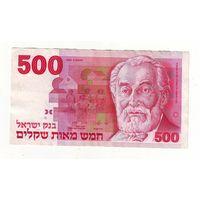 Израиль. 500 шекелей 1982 г.