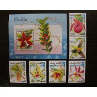 Афганистан. 1999. Флора. Цветы. Орхидеи