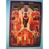 Иконка православная Покров Пресвятой Богородицы.