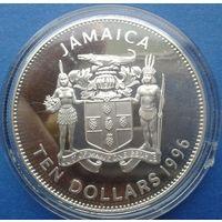 Ямайка 10 доларов олимпиада 1996