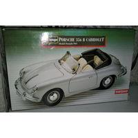 Модель 1:18   Porshe 356B Cabrio