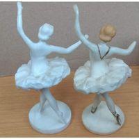 Статуэтки    две балерины  начало 60-х