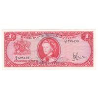 Тринидад и Тобаго 1 доллар 1964 года. Редкая! Состояние XF+!