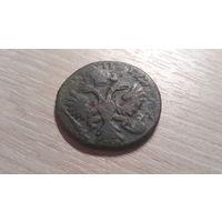 Деньга 1731 (перечекан с Петра)