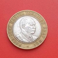 25-07 Кения, 10 шиллингов 1994 г.