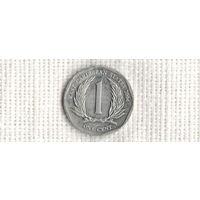 Карибские Острова /Карибы/1 цент 2004(NS)