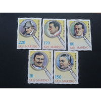 Сан-Марино 1979 знаменитые детективы полная серия