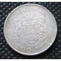 200 лей 1942. Серебро.