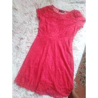 Платье красное р. С-М