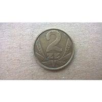Польша 2 злотых, 1986г. (D-8)