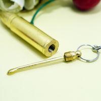 Брелок на ключи (ПУЛЯ), с ложечкой для чистки уха. распродажа