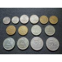 РОССИЯ Годовой набор монет 1997 г.