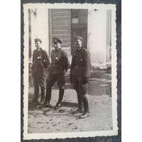 Фото времен немецкой оккупации. 7х10 см