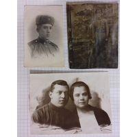Три старые фотографии одним лотом