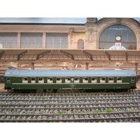 Спальный вагон Sachsenmodelle 14328. Масштаб HO-1:87.
