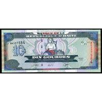 Гаити 10 гурдес 2000 г. (Рick 265) UNC  распродажа