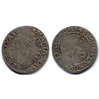 Мариенгрош 1546, Германия, Брауншвейг (город). Такие монеты обращались наравне с грошами по польской стопе