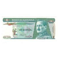 Гватемала 1 кетцель 1987 года. Состояние UNC! Нечастая!