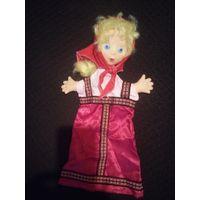 Кукла Машенька, перчаточная. СССР, винтаж, 70-е гг.