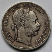 Австро-Венгрия 1 флорин 1878 (серебро)